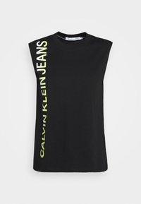 Calvin Klein Jeans - PHOTO PRINT STRAIGHT - Top - black - 3
