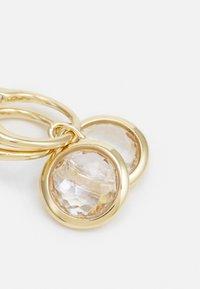 Swarovski - TAHLIA HOOP - Earrings - gold-coloured - 3