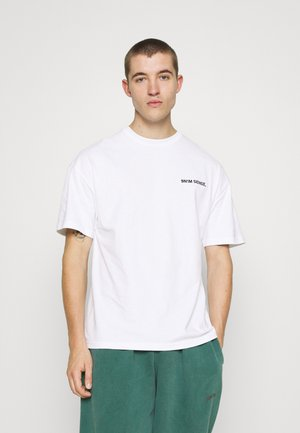 LOGO UNISEX - T-shirt print - white