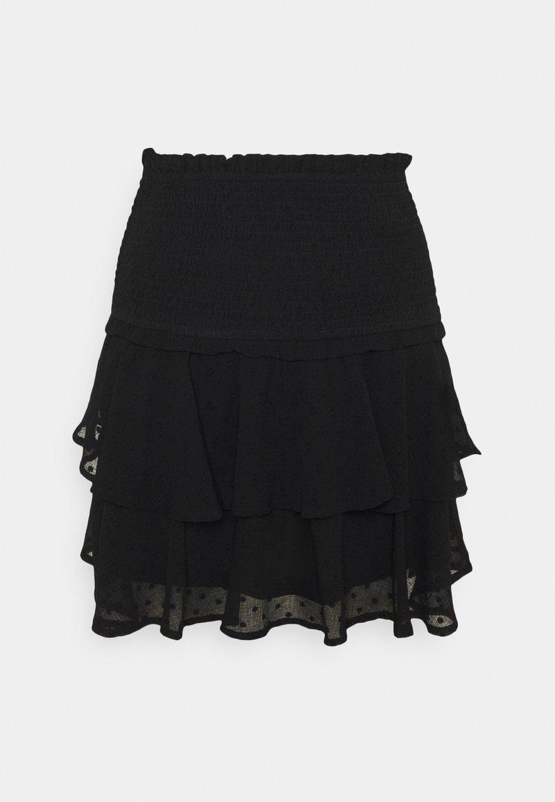 ONLY - ONLLINA SKIRT - Miniskjørt - black