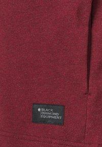 Black Diamond - BASIS CREW - Sweatshirt - dark crimson heather - 2
