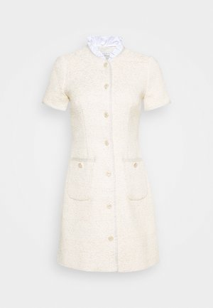 TALY - Shift dress - ecru