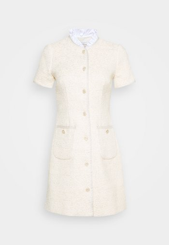 TALY - Shift dress - ecru