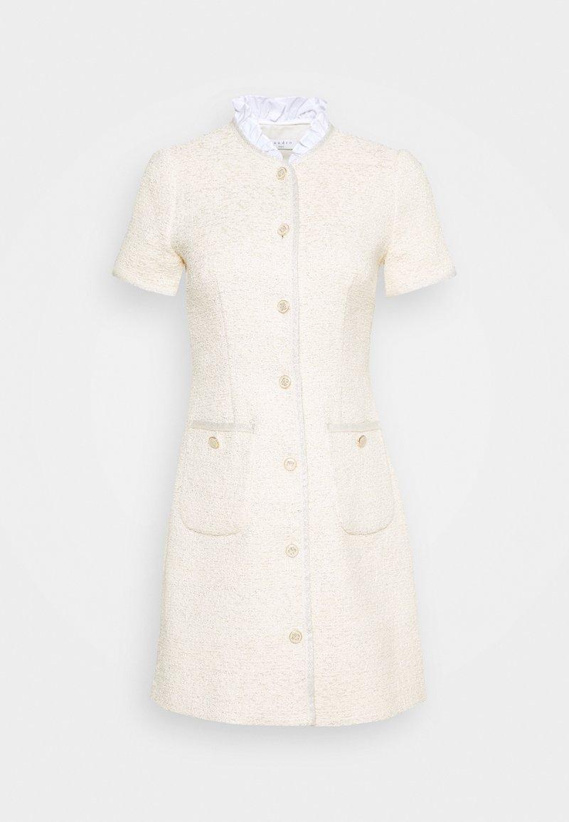 sandro - TALY - Shift dress - ecru