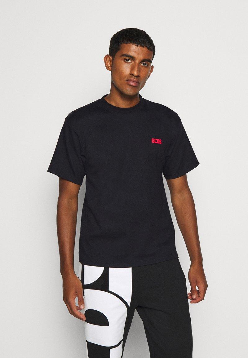 GCDS - BASIC TEE - Basic T-shirt - black