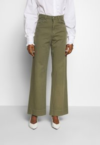 Neuw - MAGAZINE PANT - Trousers - military - 0