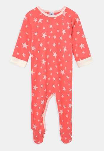 DORS BIEN ZIP UNISEX - Sleep suit - peachy/marshmallow