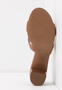 Dune London - JOUPE - Heeled mules - tan - 6