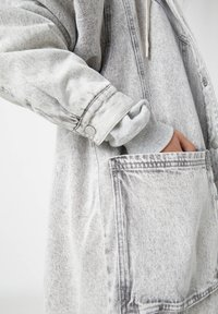 PULL&BEAR - Winter coat - mottled grey - 5