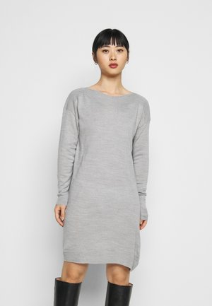 ONLAMALIA DRESS - Jumper dress - light grey