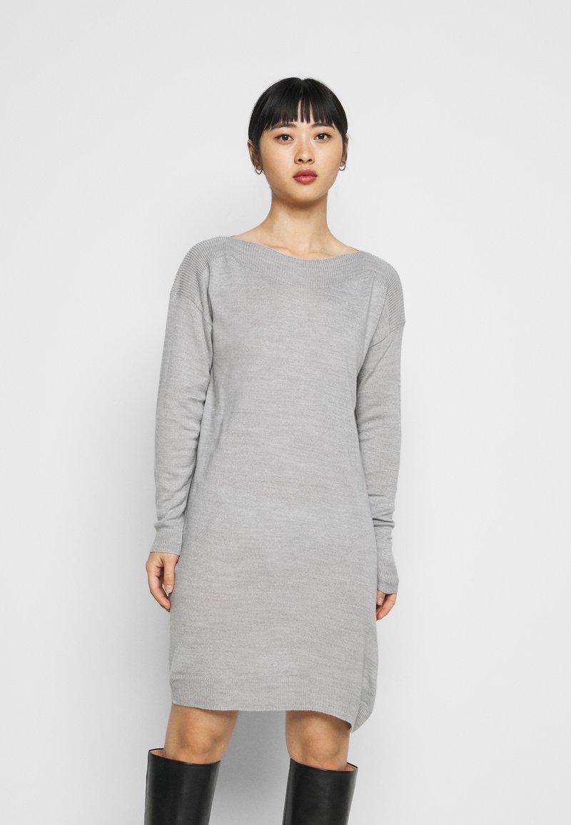 ONLY Petite - ONLAMALIA DRESS - Jumper dress - light grey
