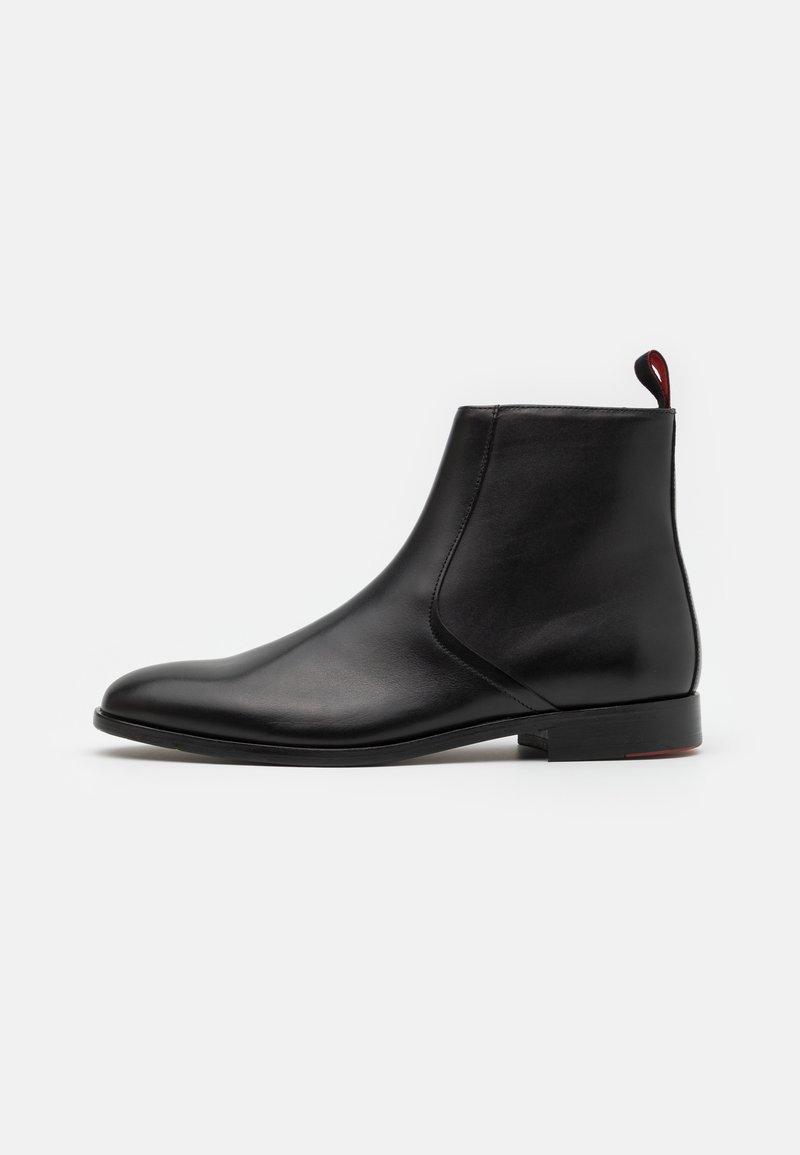 HUGO - MIDTOWN - Kotníkové boty - black