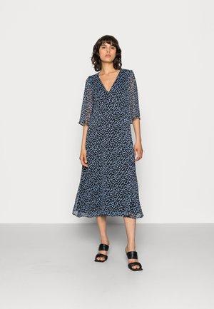 ARAMINTA - Day dress - black/light blue