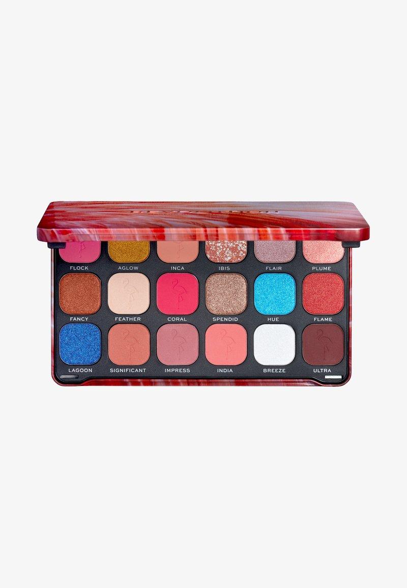 Make up Revolution - FOREVER FLAWLESS FLAMBOYANCE FLAMINGO PALETTE - Eyeshadow palette - flamboyance flamingo