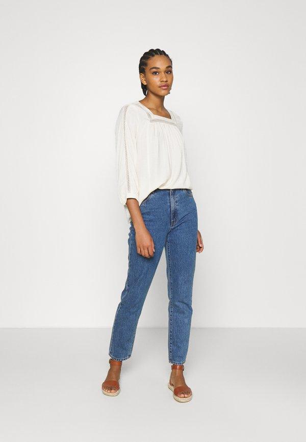 Vero Moda VMEMINA - Bluzka z długim rękawem - birch/szary XSOO
