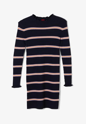 MIT STREIFENMUSTER - Jumper dress - dark blue stripes
