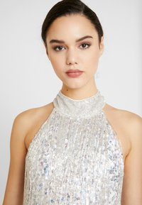 Lace & Beads - NADIA MINI - Cocktail dress / Party dress - silver - 4