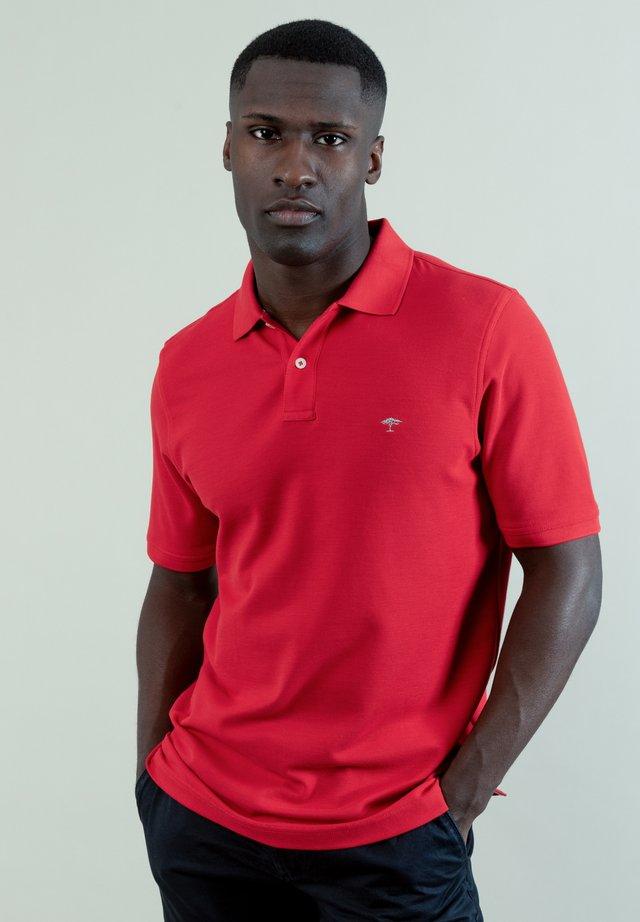 Polo shirt - sangria