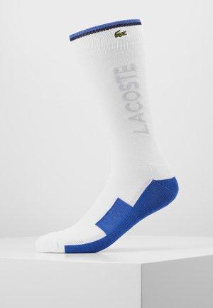 Socks - blanc/obscurite/marine