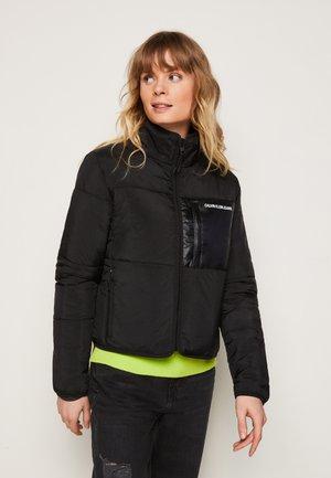 SHORT LINER JACKET - Light jacket - black