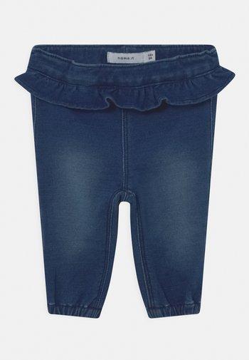 NBFBIBI  - Trousers - dark blue denim