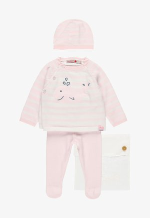 PACK STRICK FÜR BABY - Jumper - light pink