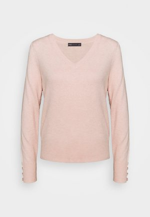 VEE JUMPER - Pullover - rose