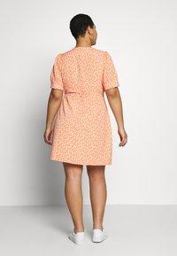 Fashion Union Plus - MERYL DRESS - Day dress - cantalope - 2