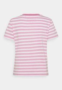 Tommy Jeans - CLASSICS STRIPE TEE - T-shirts print - pink daisy - 7