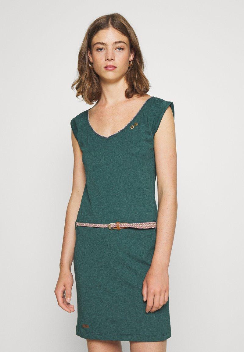 Ragwear - SLAVKA - Žerzejové šaty - dark green
