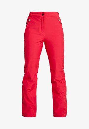WOMAN SKI PANT - Zimní kalhoty - rhodamine