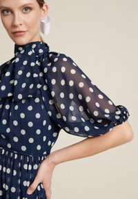 Luisa Spagnoli - PEDALE - Day dress - var blu/panna - 3