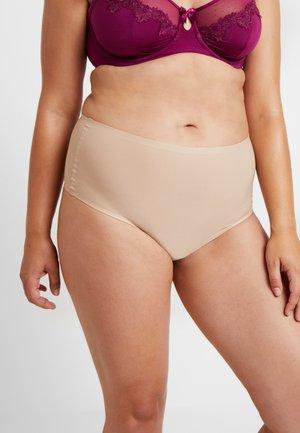 SOFTSTRETCH HIGH WAIST - Thong - nude