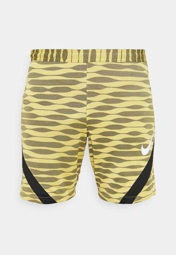 STRIKE SHORT - Sports shorts - saturn gold/black/black/white