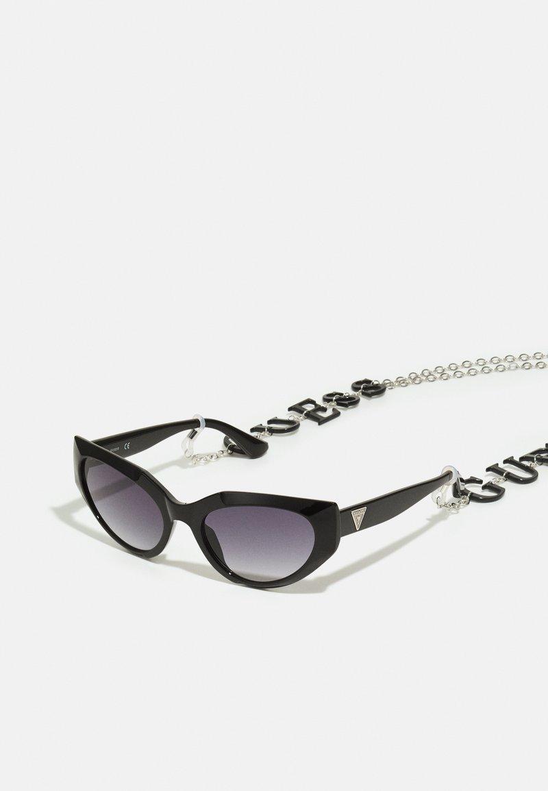 Guess - Sunglasses - shiny black/gradient smoke