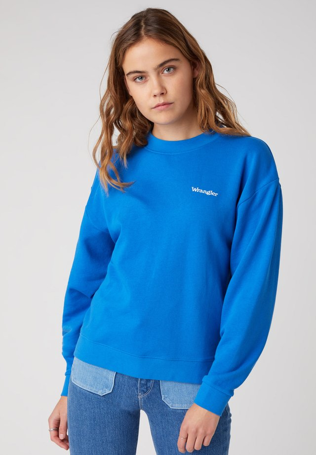 RETRO - Sweatshirt - strong blue