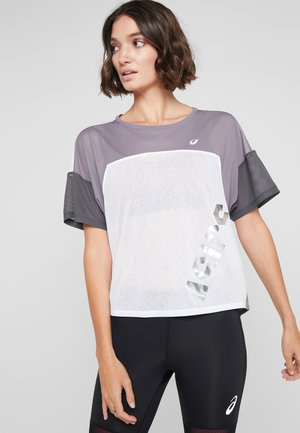 EMPOW HER STYLE  - T-shirt med print - brilliant white
