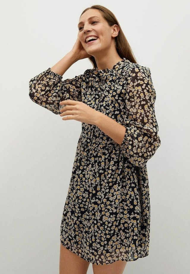 PRARIE - Shirt dress - zwart