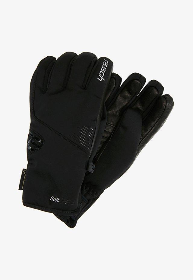 PAULINE GTX® - Rękawiczki pięciopalcowe - black/silver