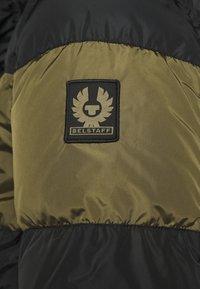 Belstaff - DOME JACKET - Down jacket - black/sage green - 7