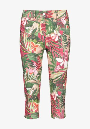 Shorts - pink/grün/beige