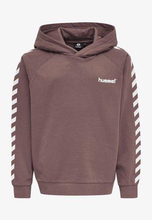 Hoodie - marron