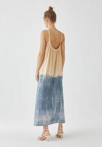 PULL&BEAR - Maxi šaty - dark blue - 1