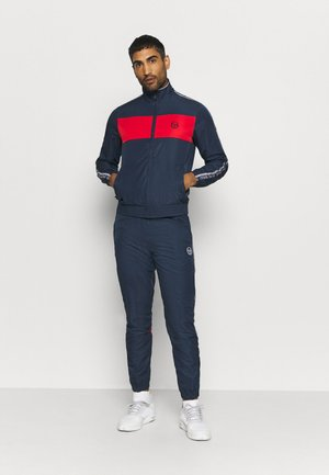 SET - Tracksuit - navy/red