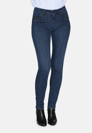 Jeans Skinny Fit - dark blue w use