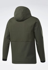 Reebok - THERMOWARM DELTAPEAK FULL-ZIP CONTROL - Zip-up hoodie - green - 8