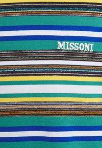 Missoni - SHORT SLEEVE - Print T-shirt - mare blu - 2