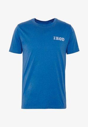 LOGO TEE - Triko spotiskem - true blue