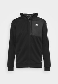 adidas Performance - AERO  - Zip-up hoodie - black - 4