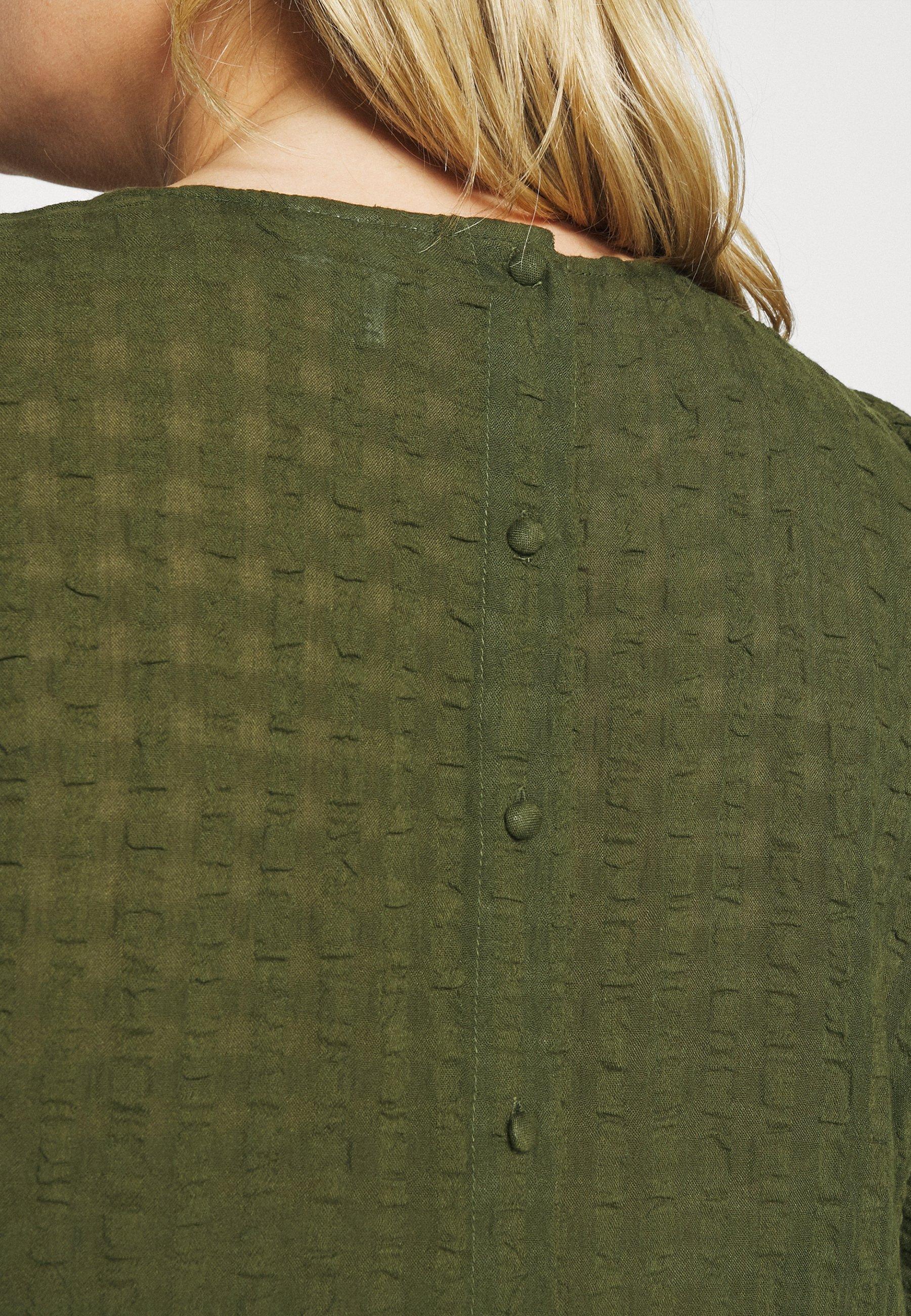 Women VMPOLITE 3/4 O-NECK BLOUSE CURVE - Blouse